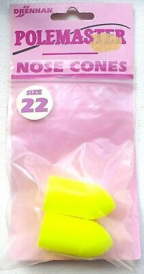 FOR £2.99 NEW SIZE 21 DRENNAN POLEMASTER POLE SECTION NOSE CONE BUNG