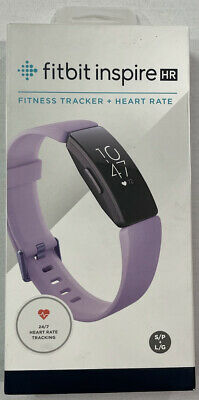 Details about  /Fitbit FB413BKBK Inspire HR Heart Rate /& Fitness Tracker With Extra S /& L bands