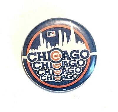 """Chicago Cubs * MLB * Pinback Pin Button 1 3/8"""" * Combine Shipping!"""
