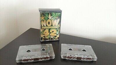 Now That's What I Call Music 42 UK Release - Double Cassette Tapes (1999)