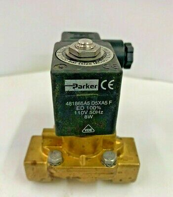 Details about  /Parker Brass Water Solenoid valve 1//2  NPT  G-23S 73136  Does not Come with Coil