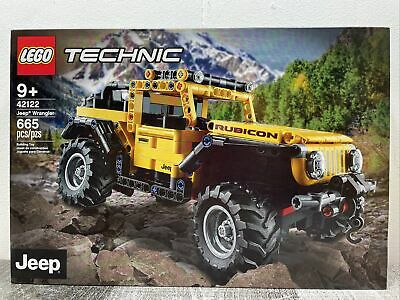 LEGO Technic Jeep Wrangler New 2021 610 pcs Educational Compatible with Block