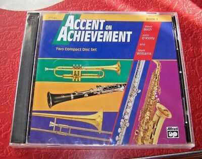 Accent on Achievement - TWO CD SET - Book 1- New/Sealed