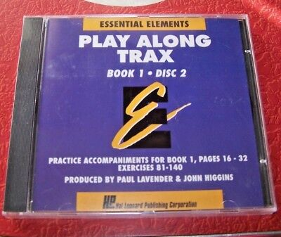 Essential Elements Play Along Trax - CD - Bk. 1, Disc 2