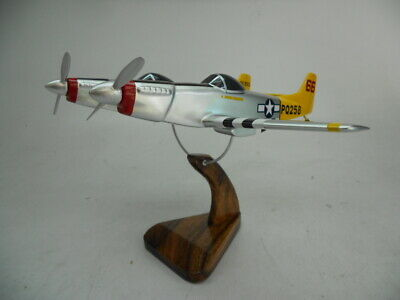 F-82 Twin Mustang North American Airplane Wood Model