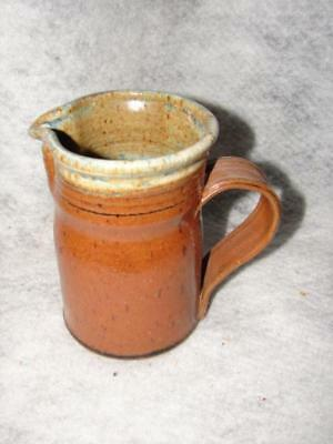 1978 NC Pottery Pitcher - North Carolina Pottery Signed by artist ~ very nice