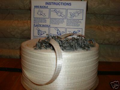 Polyester Cord Strapping Kit 1/2 inch + buckles