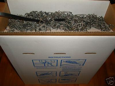 """Poly Strapping+1M Wire Buckles 1/2""""x.021x9M ft"""