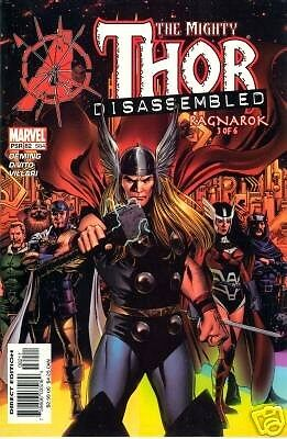 Thor #82 584 Avengers Disassembled Prologue FREE UK POST