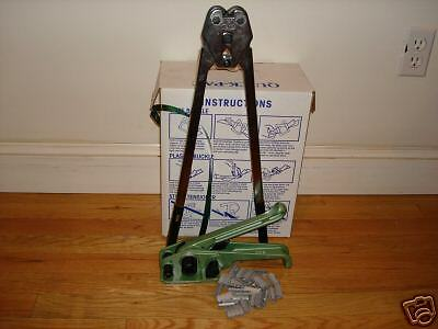 """1/2"""" x .028 Polyester Kit 1M ft strap+150 seals+tools++"""
