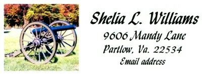 Cannon sideview Historical Address Labels