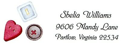 Buttons Button Collector Address Labels