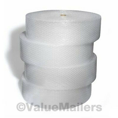 Large Bubble Roll 1/2 x 250 ft x 12 Inch Bubble Large Bubbles Perforated Wrap