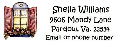 Country Window Address Labels