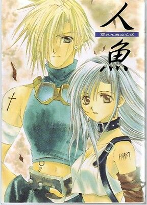 Final Fantasy 7 VII Doujinshi Comic Cloud x Tifa Mermaid Tenshin Monogatari 178p