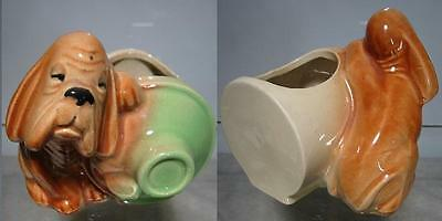 1930's or 40's~Shawnee~Hound & Jug Planter