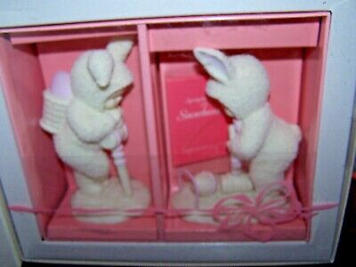 Snowbunnies EASY DOES IT - Set of 2 - Dept. 56 - NIB!