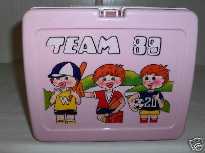 Team 89 Baseball`Plastic Lunchbox->Free To US