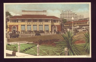 Bournemouth THE PAVILION Vintage Unused Foreign Postcard