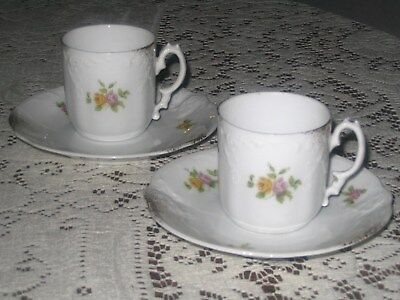 Altrohla - Austria - Two Demitasse Cup/Saucer Sets