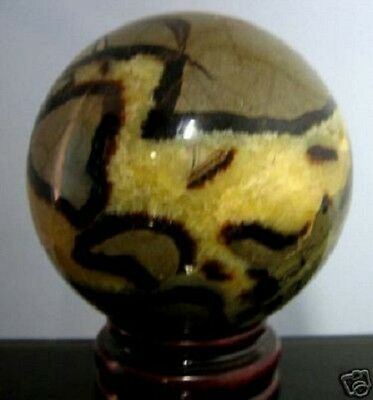 Collection BIG Mineral SEPTARIAN SPHERE 92mm Over 1 Kg Calcite Crystal