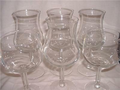CRIS D'ARQUES/DURAND, UNKNOWN,  (6) CRYSTAL GLASSES