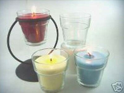 Flower Pot Votive Candle Glass (12 Dozen)