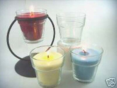 Flower Pot Votive Glass (1 Dozen)