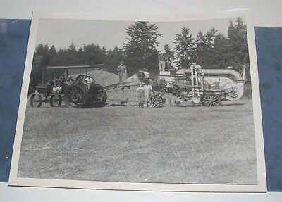 Vintage Farm Tractor Engine Machinery Implement Photo