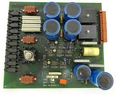 Agie 100 Supply Stage Circuit Board (SUS-013B) #629992.9