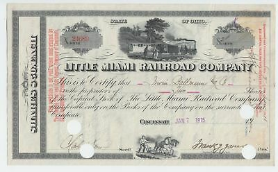1915 Little Miami (Cincinnati, Oh.) Railroad Company