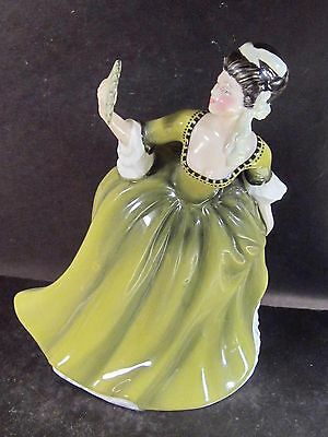 "Royal Doulton SIMONE HN2378  7 3/4""  Olive Green"