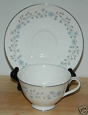 Royal Doulton Fine China Cup & Saucer Chalet Pattern