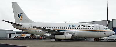 B-737 EAS Airlines Boeing B737 Airplane Wood Model Free Shipping