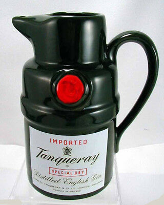 TANQUERAY GIN  Pub Jug  Liquor Advertising Pitcher -