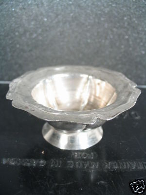 Sterling SET 6 SALT CELLARS OR BUTTER PATS Mexico .925