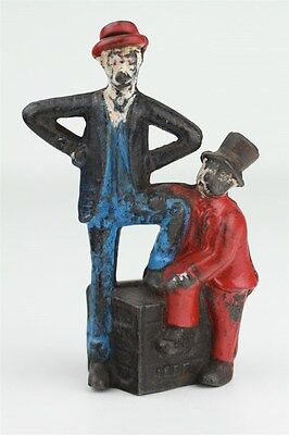 A.C. Williams 1900's Mutt & Jeff Cast Iron Still Bank