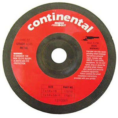 7 Inch Without Hub 10-Pack Continental Metal Grinding Wheels