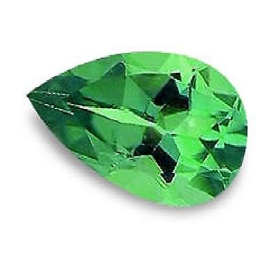 Best Green Chrome Tourmaline Pear Shape Cut 5 X 3 Mm