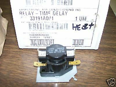 Armstrong Air Conditioning 33191A001 Relay &time Delay