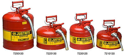 Safety Can Type II, Gas, Container, 2 Gallon