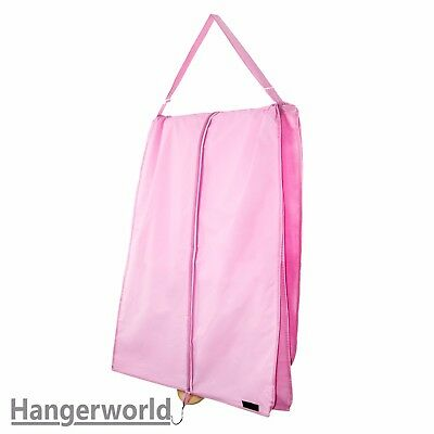 "Extra Large Pink Wedding Prom Ball Gown Dress Garment Cover Bag 72"" Hangerworld"
