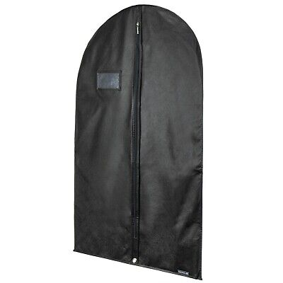 "Breathable Black Suit Cover Garment Clothes Travel Protector Bag 40"" Hangerworld"