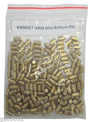 200 Pieces PC Kwikset Rekey Bottom Pins #5 Locksmith Rekeying Pin Kits