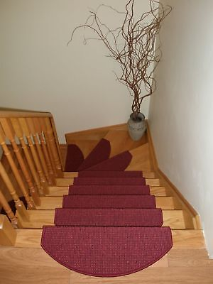 Set of 15 Carpet Stair Rugs Stair Treads Mats Runners - ON SALE NOW!