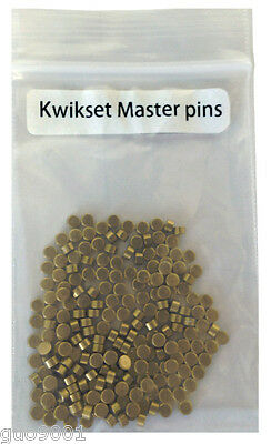 200 Pieces PC Kwikset Rekey Master Pins #1 Locksmith Rekeying Pin Kits
