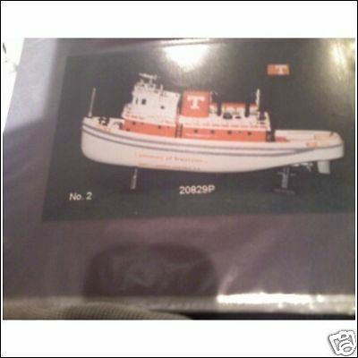 UNIVERSITY OF TENESSEE  2ND  ISSUE TUG BOAT 1 OF 850