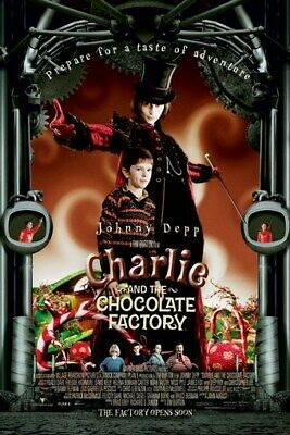 Charlie And The Chocolate Factory Poster - Johnny Depp