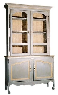French Beauvais Hutch China Cabinet 25 Colors Antique European Reproduction New