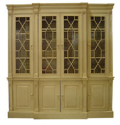 Scarborough Fretwork China Cabinet Hutch Antique European Reproduction 25 Colors